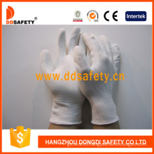 White PU Coated Nylon Work Gloves (DPU100)